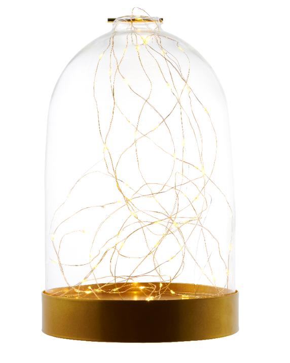 Sirius Bianca Dome Gold 40L, H23cm