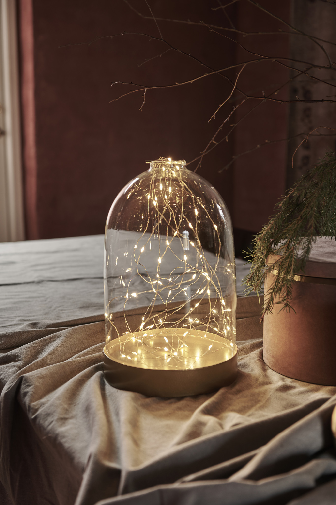 Biance Dome Gold 20L, H19cm