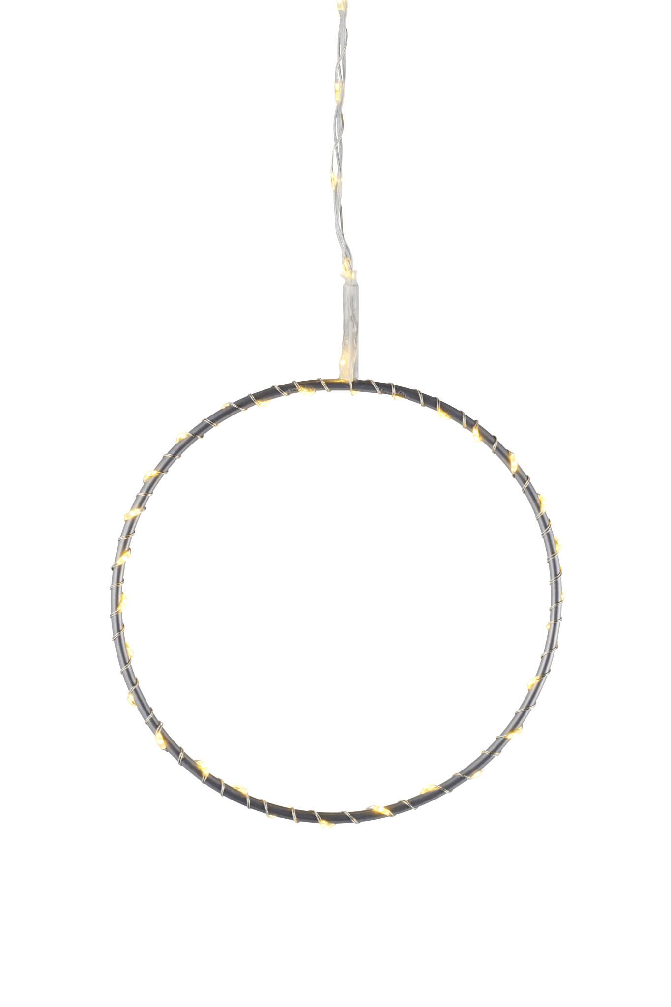 Liva circle, Ø20 cm, silver