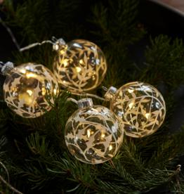 Sirius Christmas tree balls, (4st)