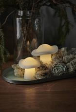 Elisa mushroom, wit (2 st)