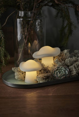 Sirius Elisa mushroom, wit (2 st) (incl.batterij)