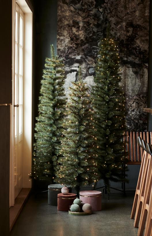 Kerstboom Alvin H1.5m + 5m, 195L, groen