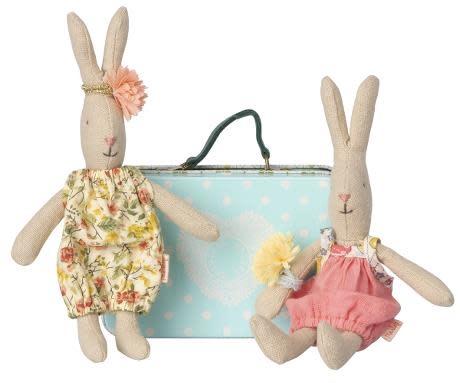 Maileg Micro rabbit (incl. 2 sets kleren)