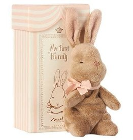 Maileg My first bunny in box, roze