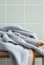 Hübsch Badhanddoek, katoen, zand/blauw/oranje 70*140 cm