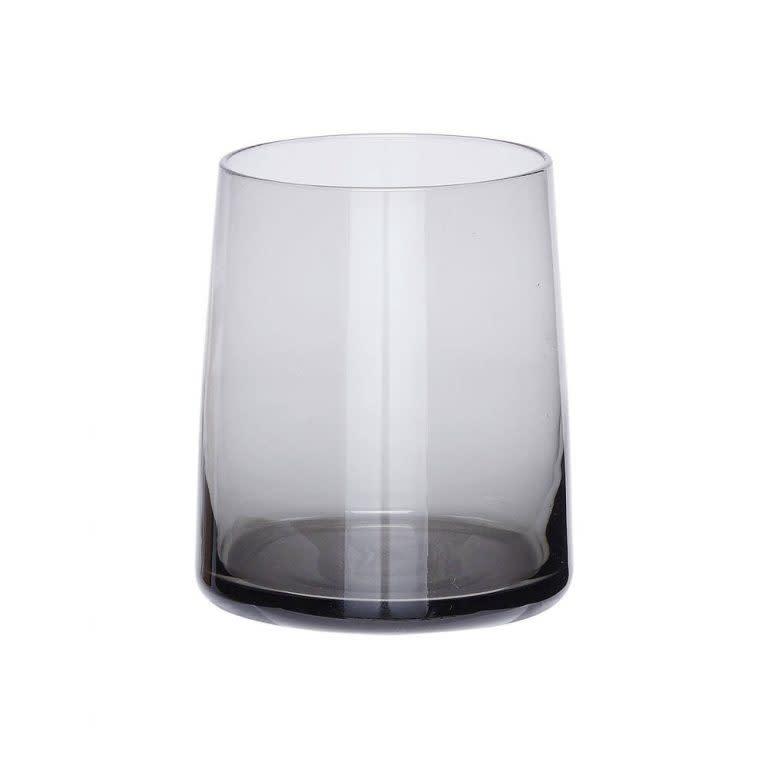 Hübsch Drinkglas, grijs _ ø8xh10cm