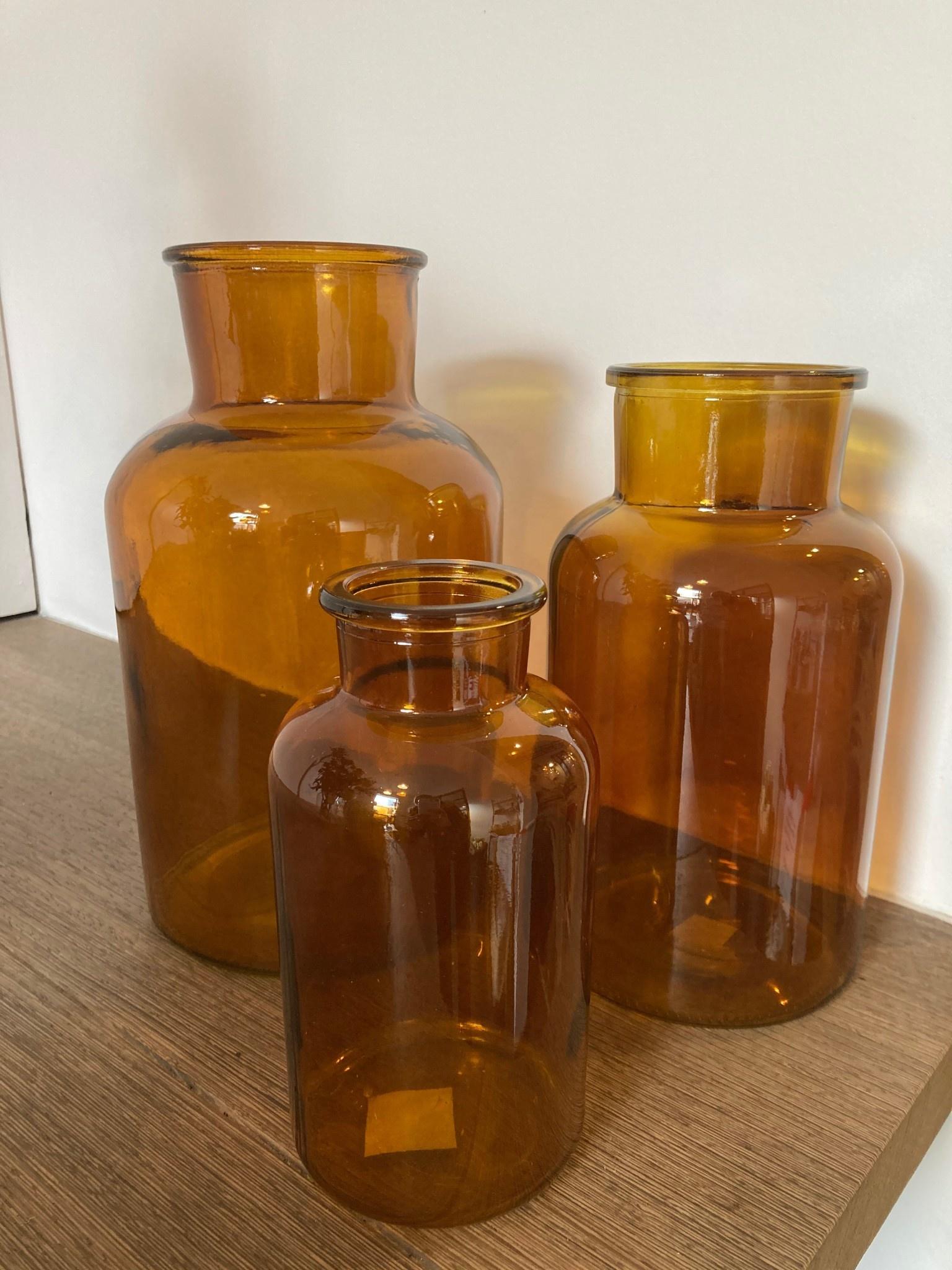 Dry glass bruin 15x26cm