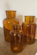 Dry glass bruin 10x20cm