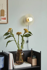 Hübsch Vase, glass, amber, ø18xh28 cm