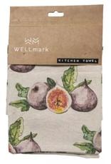 Wellmark Keuken handdoek _ vijg