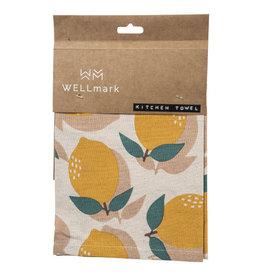 Wellmark Keuken handdoek - lemon