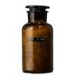 Wellmark Badzout apothekers pot - bruin glas - 500 ml