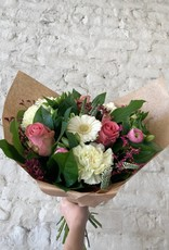 Boeket wit/roze
