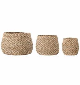 Bloomingville Malli basket, Nature Seagrass Ø24*H23 cm
