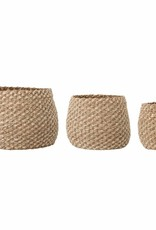 Bloomingville Malli basket, Nature Seagrass Ø34*H27 cm