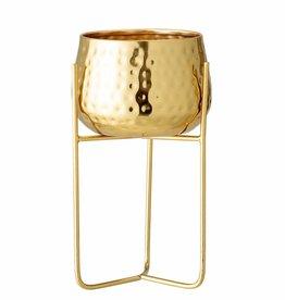 Bloomingville Russel flowerpot, gold, metal