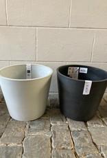 Ecopots wit/grijs dia 30 cm