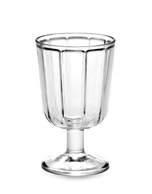 Serax Glas Surface witte wijn (4stuks) D7,5H12 (Sergio Herman)