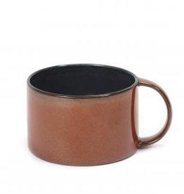 Koffietas dark blue/rust