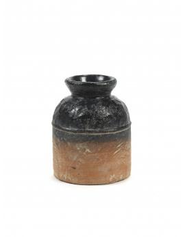 Serax Sierpot S Terracotta zwart L15 x B15 H19 cm