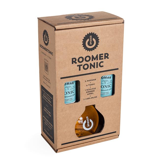 RoomeR Tonic box (1 fles 50 cl + 2 flesjes Roman tonic)