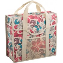 Shopper Beige with Red Flow