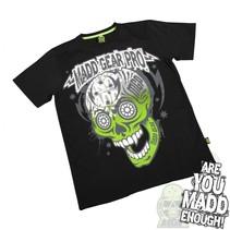 madd gear muerte skull tee black