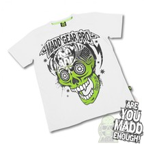 madd gear muerte skull white M