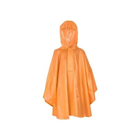 Fastrider poncho basic ki Fastrider poncho basic kids oranje 110-122