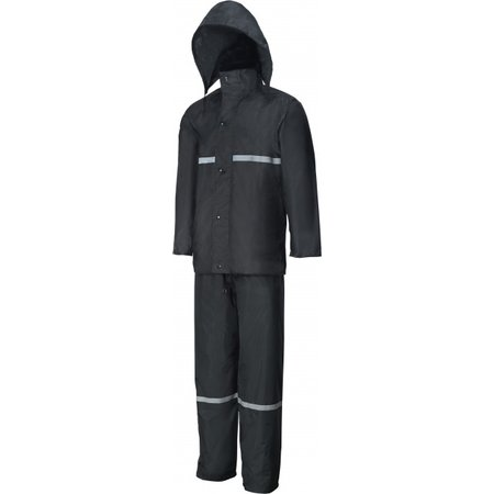 Rain suit black L Rain suit black L