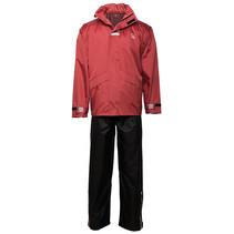 Willex Regenpak Rood/Zwart
