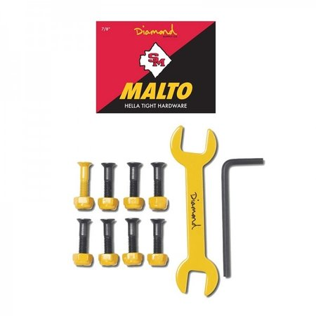 Diamond Diamond Sean Malto Pro Hardware 7/8 Yellow