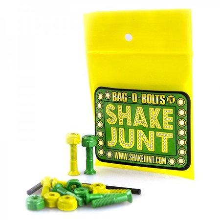 Shake Junt Shake Junt All Green/Yellow 7/8 Allen Bolts