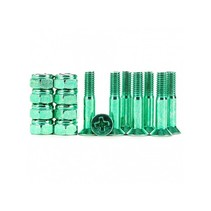 Industrial Anodized Phillips Hardware Green 1 Inch