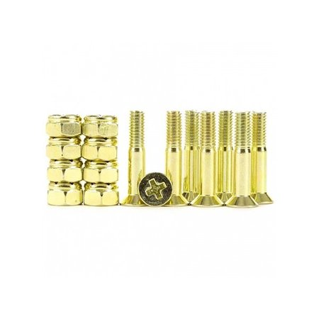 industrial Industrial Anodized Phillips Hardware Yellow 1 Inch
