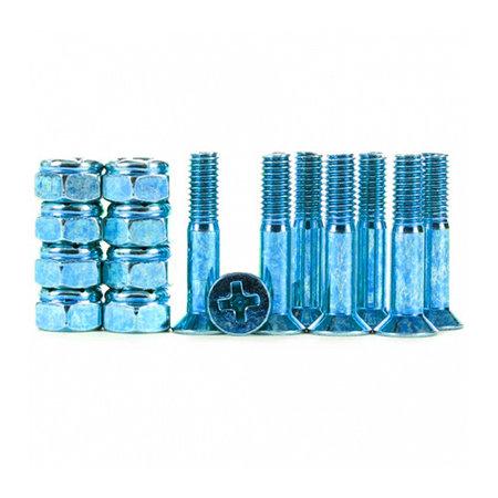 industrial Industrial Anodized Phillips Hardware Dark Blue 1 Inch
