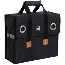 Willex Canvas Shopper Zwart