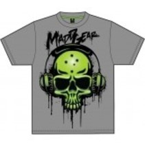 madd gear kids basehead tee black XL
