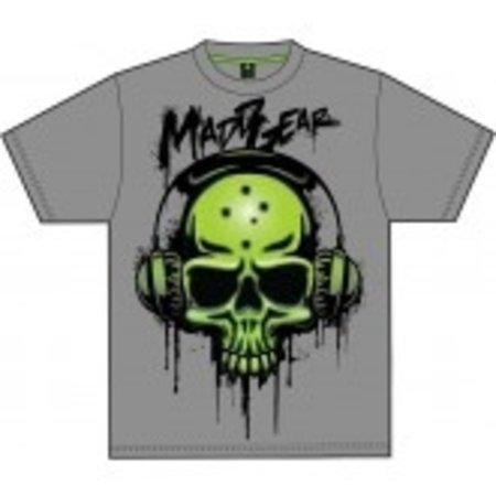 madd gear madd gear kids basehead tee black XL