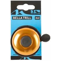 Fietsbel M-Wave Bella Trill - oranje