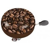 Fietsbel M-Wave Ding-Dong ø80mm - Koffie