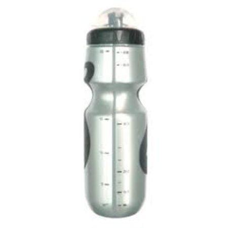 MIGHTY Bidon 600cc Zilver met anti-slip