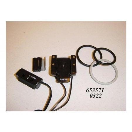 sigma Computerdl sensorset v wiel fiets 2 cr2032 schuif