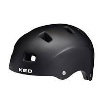 Fietshelm KED 5Forty L (57-62cm) - mat zwart