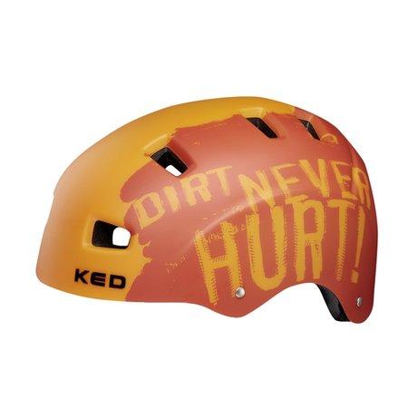 KED Fietshelm KED 5Forty M (54-58cm) - dirt orange