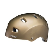 Fietshelm KED Risco M (54-58cm) - mat goud