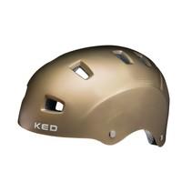 Fietshelm KED Risco L (57-62cm) - mat goud