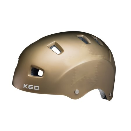 KED Fietshelm KED Risco L (57-62cm) - mat goud