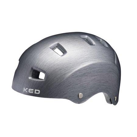 KED Fietshelm KED Risco L (57-62cm) - mat grijs